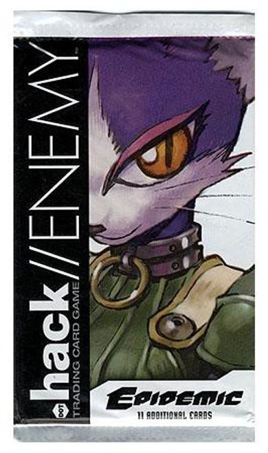 Dot .Hack/Enemy Trading Card Game Epidemic Booster Pack