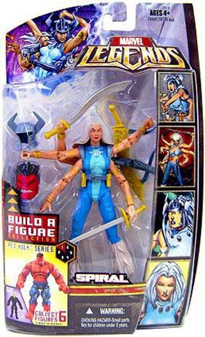 Marvel Legends Red Hulk Series Spiral Exclusive Action Figure [Gold Variant]