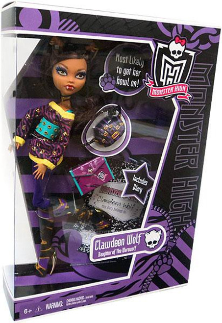 Monster High Clawdeen Wolf 10.5-Inch Doll