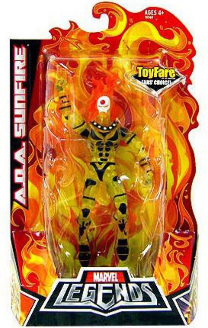 Marvel Legends Fan's Choice A.O.A Sunfire Exclusive Action Figure