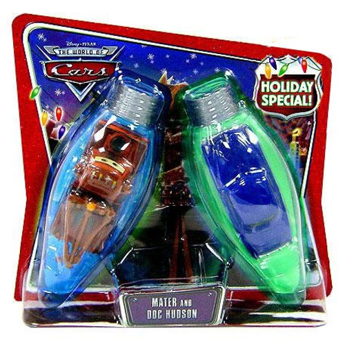 Disney / Pixar Cars The World of Cars Multi-Packs Mater & Doc Hudson Holiday Special Diecast Car 2-Pack
