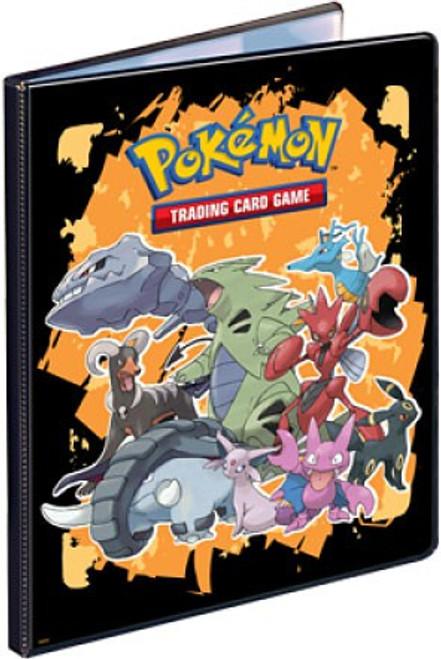 Ultra Pro Pokemon Trading Card Game Card Supplies Tyranitar & Friends 9-Pocket Binder [Orange]