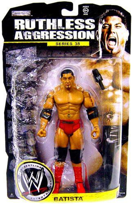 WWE Wrestling Ruthless Aggression Series 38 Batista Action Figure