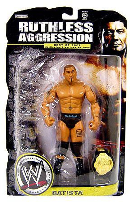 WWE Wrestling Ruthless Aggression Best of 2008 Series 1 Batista Action Figure