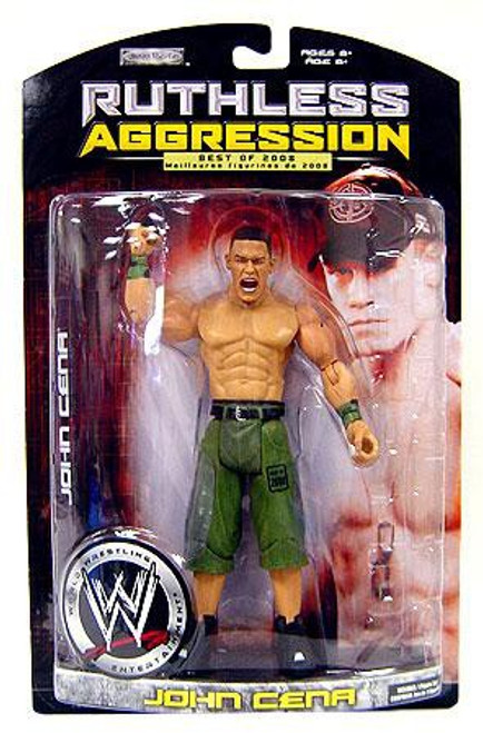 WWE Wrestling Ruthless Aggression Best of 2008 Series 1 John Cena Action Figure