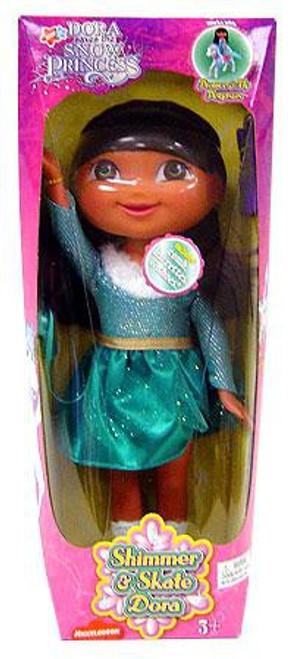 Fisher Price Dora the Explorer Dorate Saves the Snow Princess Shimmer & Skate Dora 12-Inch Doll