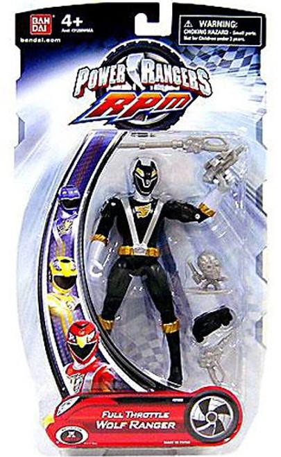 Power Rangers RPM Full Throttle Wolf Ranger Action Figure