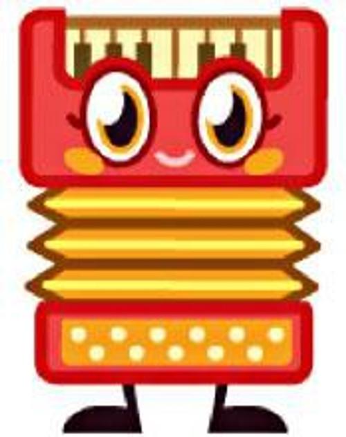 Moshi Monsters Moshlings Series 2 Plinky 1.5-Inch Mini Figure #106