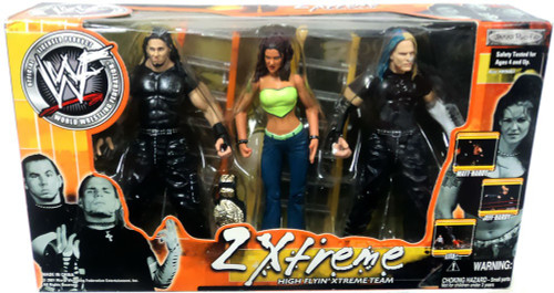 WWE Wrestling 2Xtreme High Flyin' Xtreme Team Action Figure 3-Pack