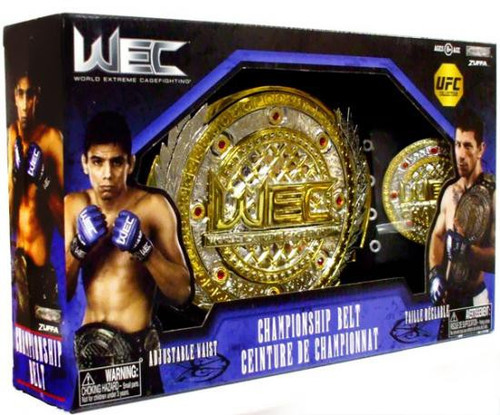 UFC WEC World Extreme Cagefighting Championship Championship Belt