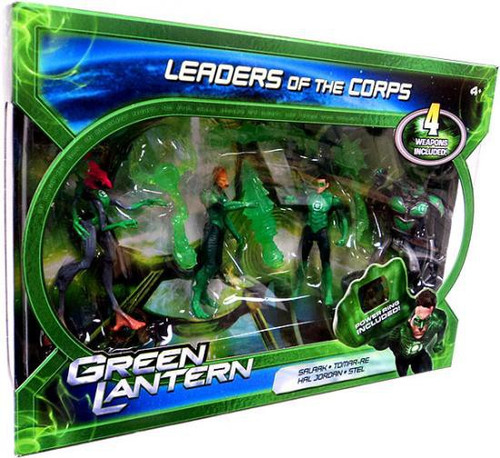 Green Lantern Movie Leaders of the Corps Action Figure 4-Pack