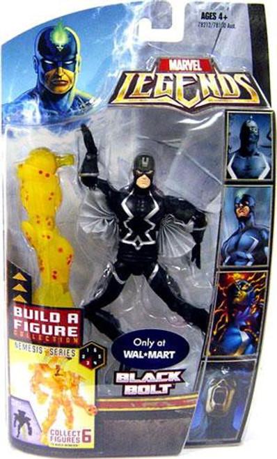 Marvel Legends Nemesis Series Black Bolt Exclusive Action Figure