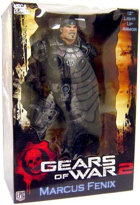 NECA Gears of War 2 Marcus Fenix Action Figure #2