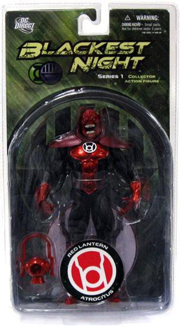 DC Green Lantern Blackest Night Series 1 Red Lantern Atrocitus Action Figure