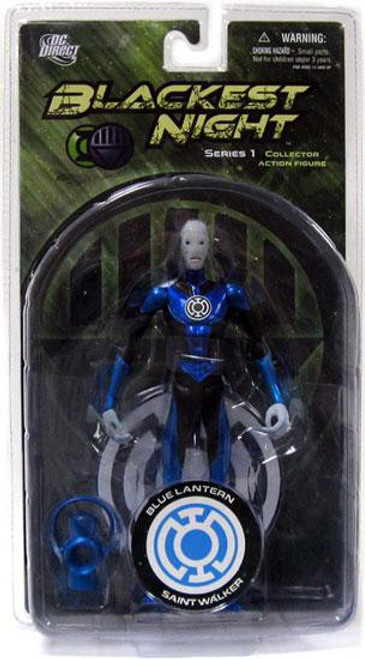 DC Green Lantern Blackest Night Series 1 Blue Lantern Saint Walker Action Figure