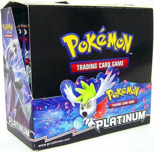 Pokemon Trading Card Game Platinum Booster Box [36 Packs]