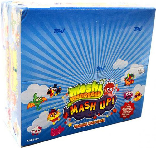 Moshi Monsters Trading Card Game Mash Up! Booster Box