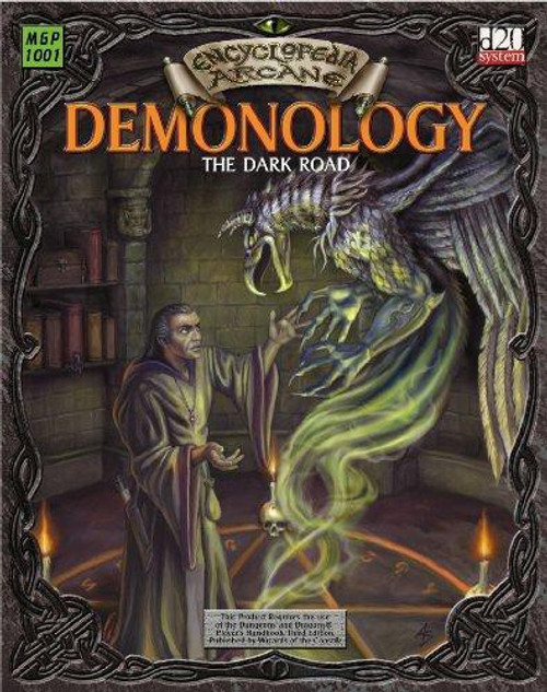 d20 Encyclopedia Arcane Demonology The Dark Road Roleplaying Book [Used Condition: Fine]