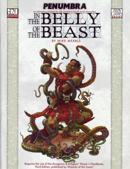 Penumbra: In the Belly of The Beast Roleplaying Book [Used Condition: Fine Incomplete]