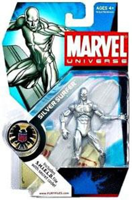 Marvel Universe Series 1 Silver Surfer Action Figure #3