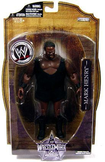 WWE Wrestling WrestleMania 25 Series 1 Mark Henry Action Figure