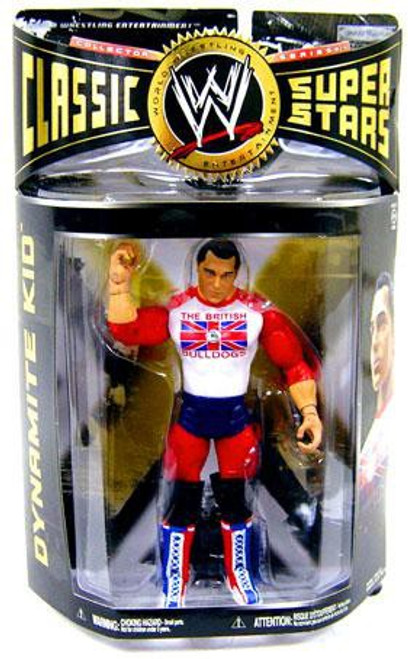 Wwe Wrestling Classic Superstars Series 24 Davey Boy Smith Action Figure British Bulldogs Jakks Pacific Toywiz