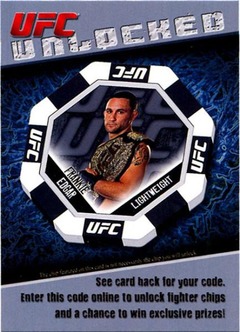 Topps UFC 2011 Finest Unlocked Code Card