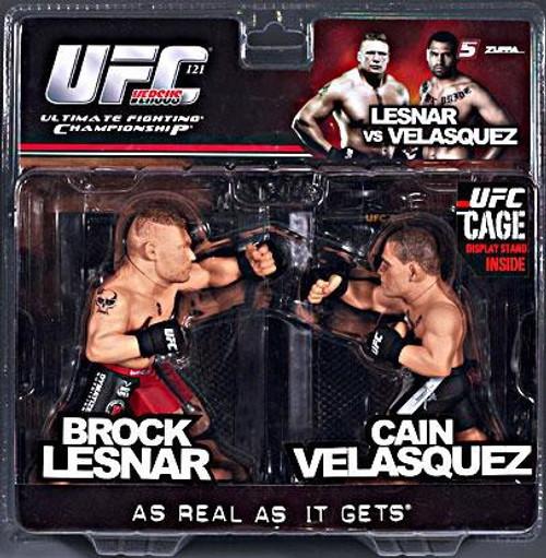 UFC Ultimate Collector Versus Series 2 Brock Lesnar vs. Cain Velasquez Action Figure 2-Pack [Limited Edition]