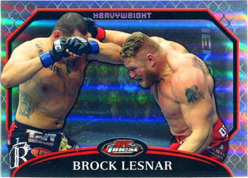 Topps UFC 2011 Finest Brock Lesnar