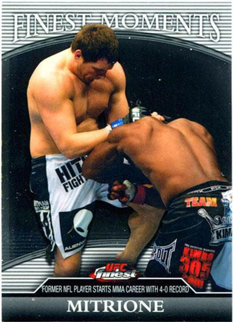 Topps UFC 2011 Finest Finest Moments Matt Mitrione