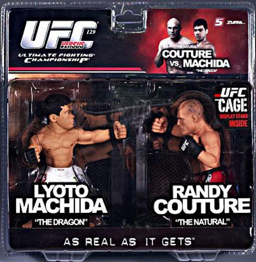 UFC Ultimate Collector Versus Series 2 Lyoto Machida vs. Randy Couture Action Figure 2-Pack [Limited Edition]