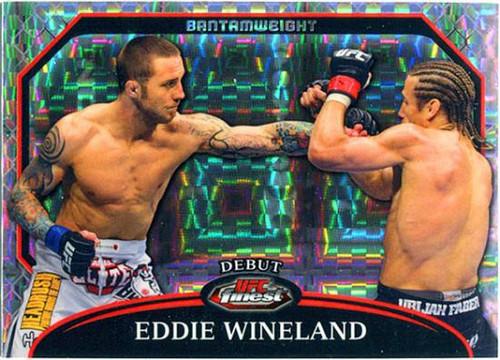 Topps UFC 2011 Finest Debute Eddie Wineland