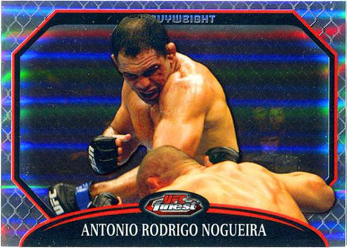 Topps UFC 2011 Finest Antonio Rodrigo Nogueira