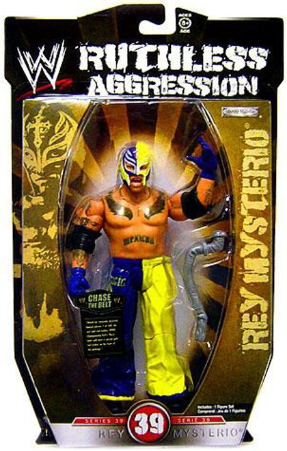 WWE Wrestling Ruthless Aggression Series 39 Rey Mysterio Action Figure