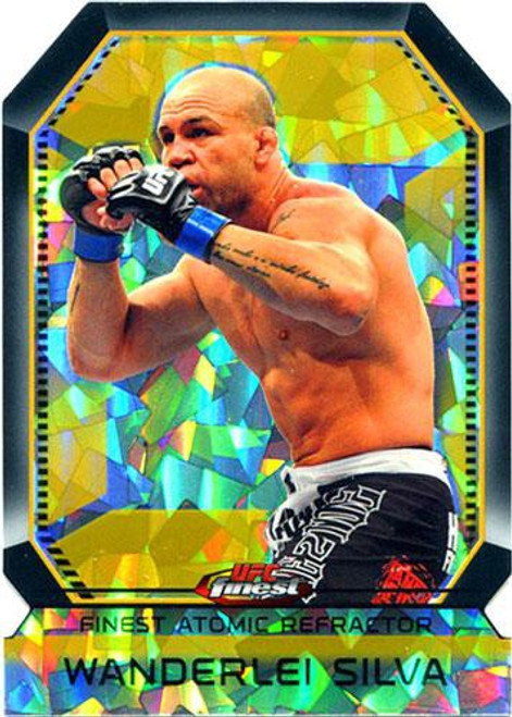 Topps UFC 2011 Finest Atomic Refractor Wanderlei Silva
