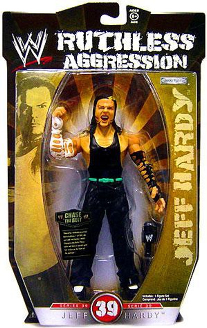 WWE Wrestling Ruthless Aggression Series 39 Jeff Hardy Action Figure