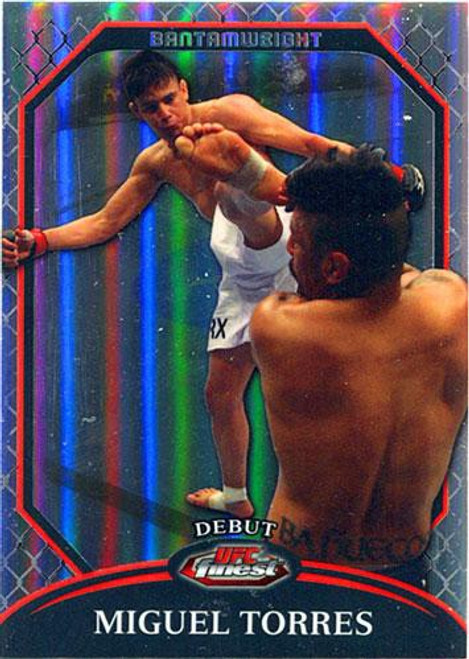 Topps UFC 2011 Finest Debut Miguel Torres