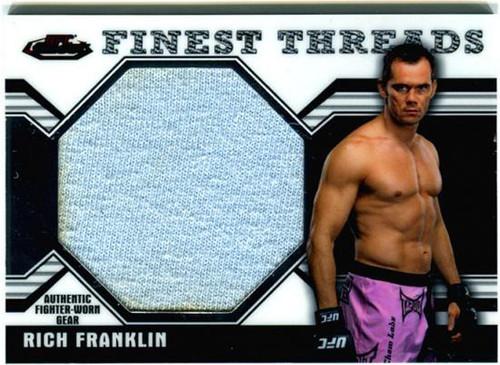 Topps UFC 2011 Finest Finest Threads Rich Franklin [Jumbo]