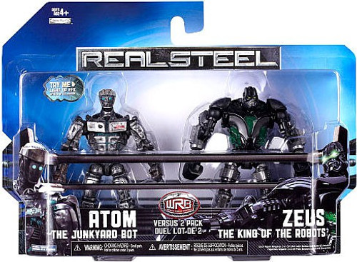Real Steel Atom vs. Zeus Action Figure 2-Pack
