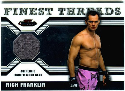 Topps UFC 2011 Finest Finest Threads Rich Franklin