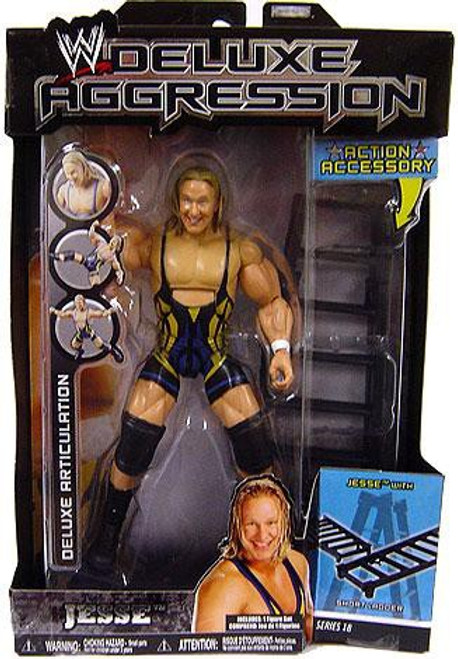 WWE Wrestling Deluxe Aggression Series 18 Jesse Action Figure