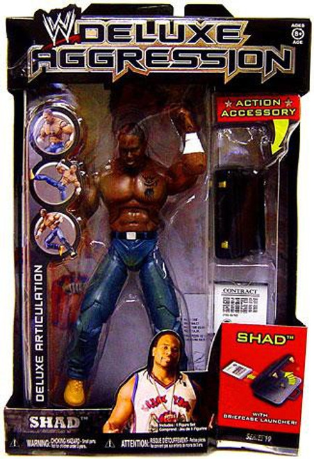 WWE Wrestling Deluxe Aggression Series 19 Shad Action Figure