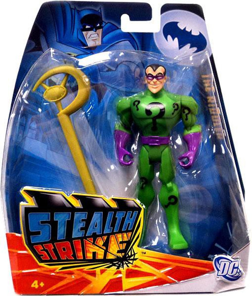 Batman The Brave and the Bold Stealth Strike The Riddler Action Figure