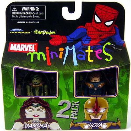 Marvel Minimates Series 23 Gamora & Nova Minifigure 2-Pack