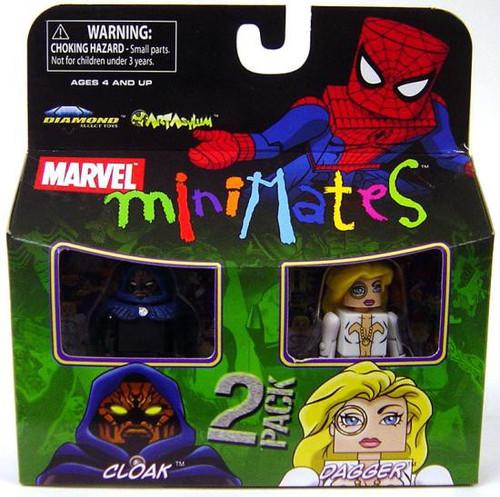 Marvel Minimates Series 23 Cloak & Dagger Minifigure 2-Pack