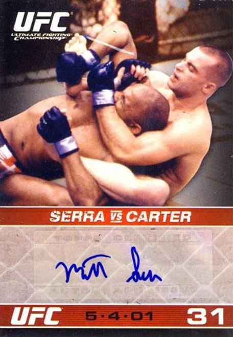 Topps UFC 2009 Round 1 Autograph Card Matt Serra