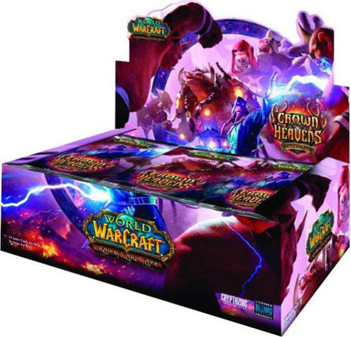 World of Warcraft Trading Card Game Crown of the Heavens Booster Box [36 Packs]