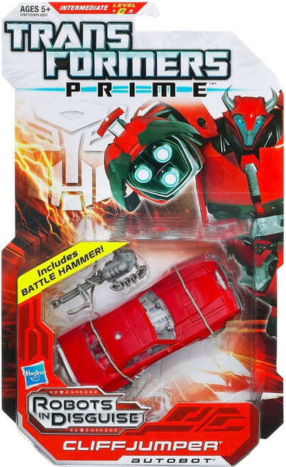Transformers Prime Robots in Disguise Cliffjumper Deluxe Action Figure