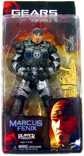 NECA Gears of War Player Select Series 3 Marcus Fenix Action Figure [Gold Lancer]