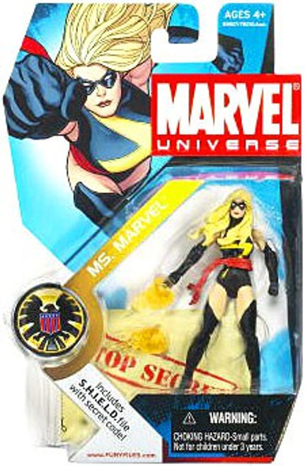 Marvel Universe Series 3 Ms. Marvel Action Figure #22 [Black Outfit]